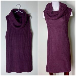 ASOS x Brave Soul Eggplant Ribbed Sweater Dress 12